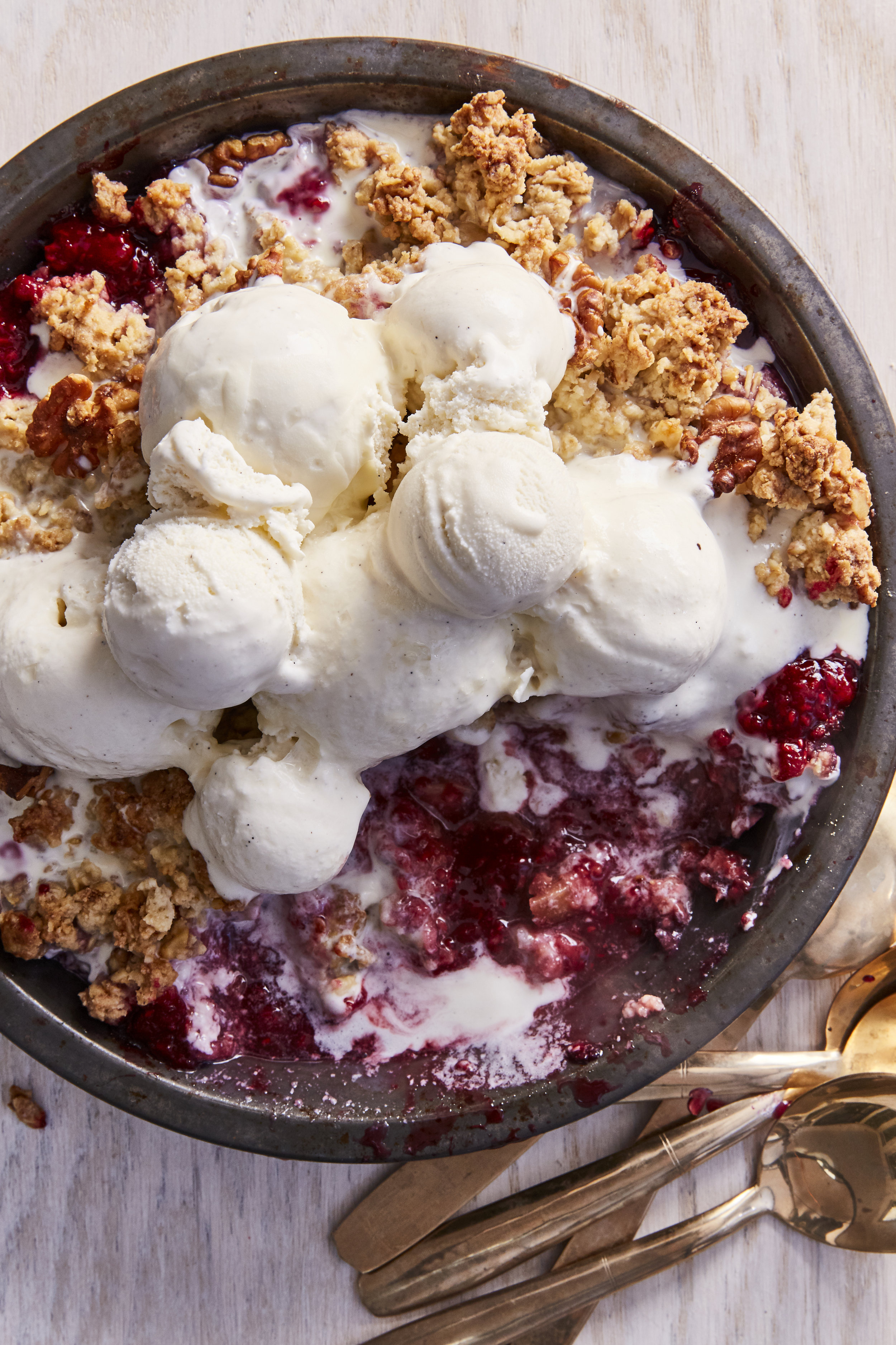 Raspberry Rhubarb Crumble from EVERY DAY IS SATURDAY    #everydayissaturdaycookbook  #rhubarb  #rhubarbpie #baking #easyrecipes #easybakingrecipe