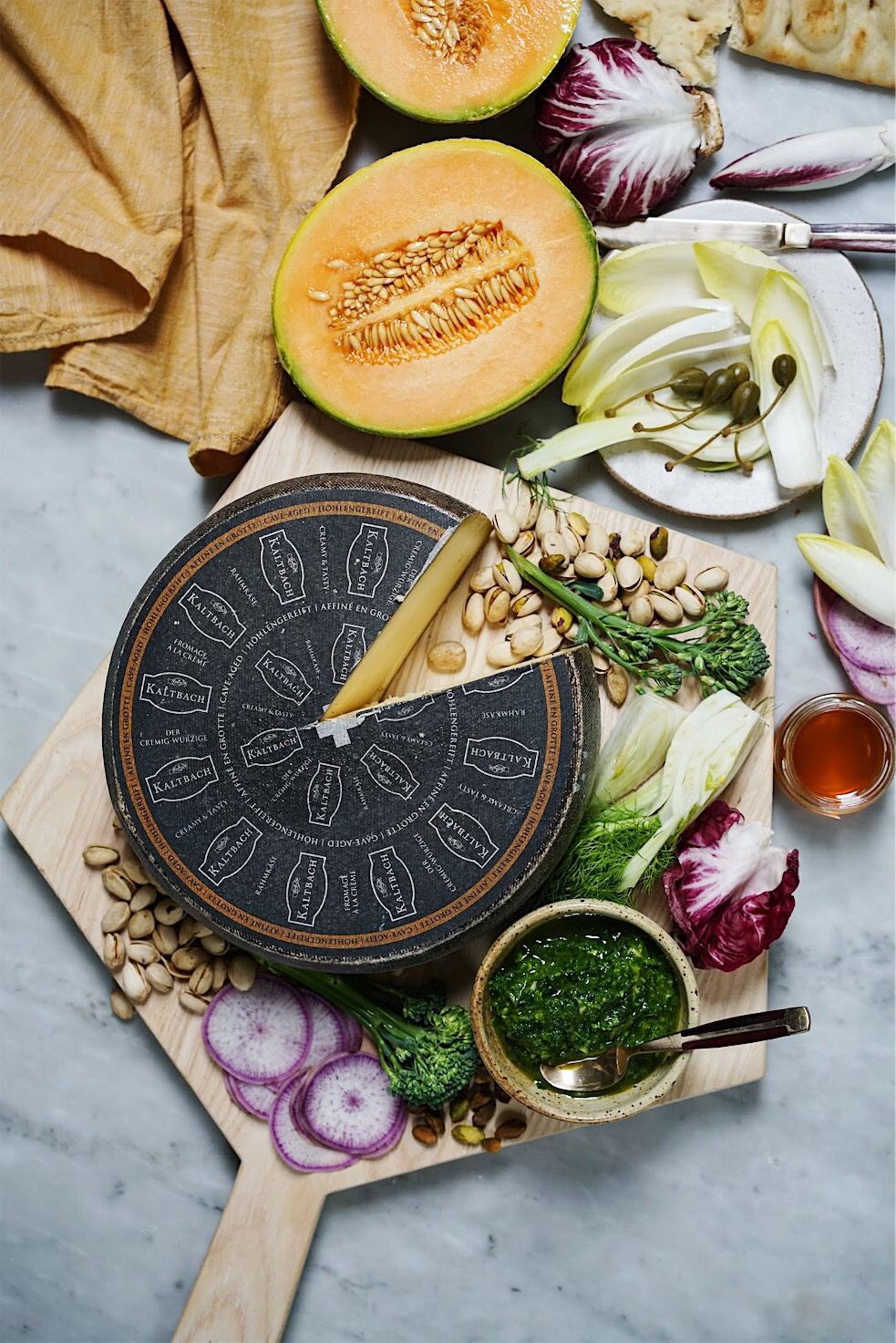 Emmi Roth Le Cremeux Giveaway (personalized wheel of cheese!)
