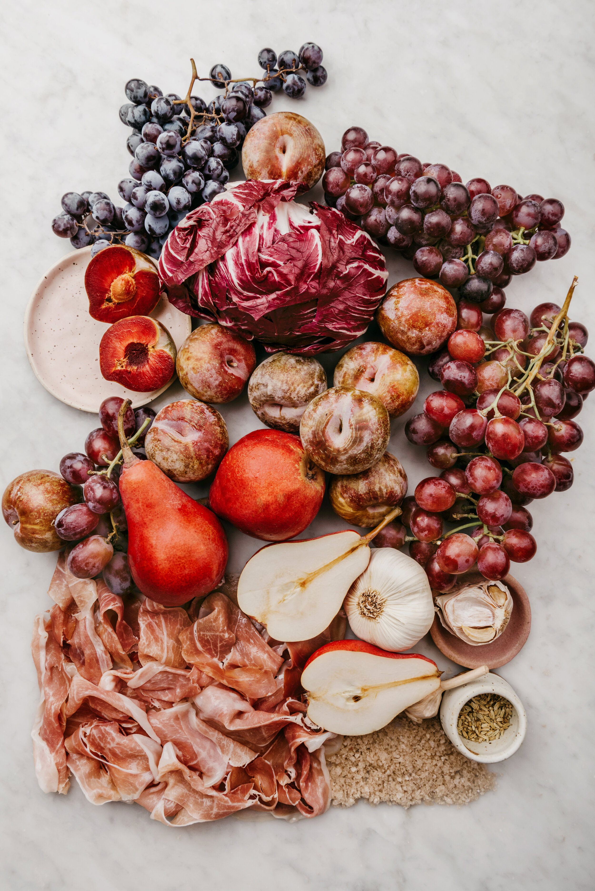 FALL FRUIT OMBRE by Sarah Copeland #ombre #fallfruits #edibleliving #sarahcopeland