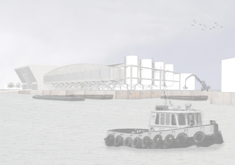 BSc IIITrinity Buoy Wharf - view