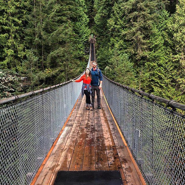 Bridge Walk, Capilano Suspension Bridge Park . . . #vancouver #northvancouver #vancouverbc #canada #capilanosuspensionbridge #suspensionbridge #bridge #bridgewalk #trees #inthetrees #summer #summerthrowback