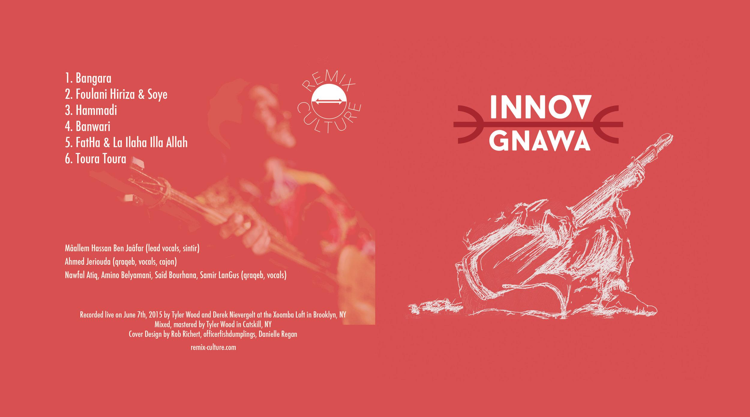 Innov Gnawa - CD - Listen, then buy