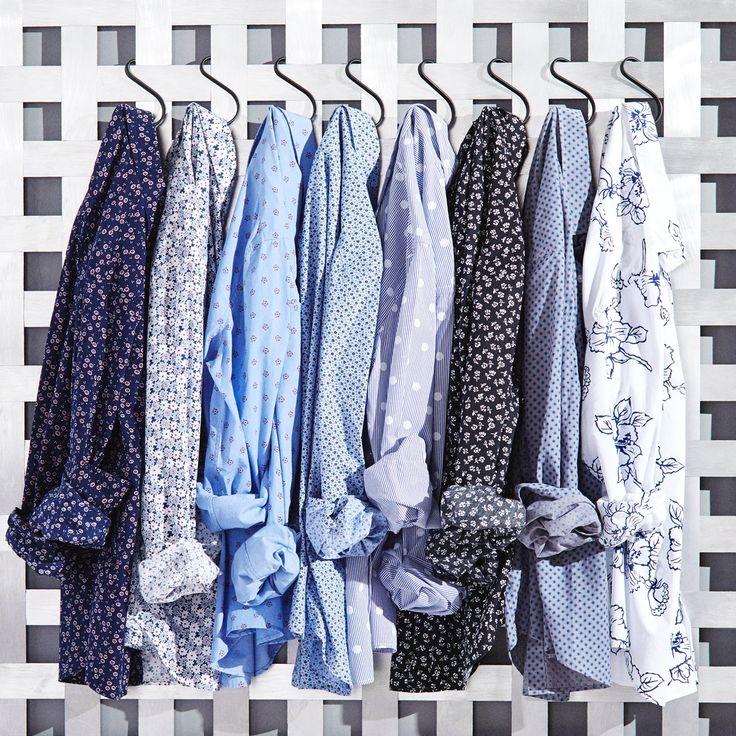 Bonobos shirts in three fits, New York City