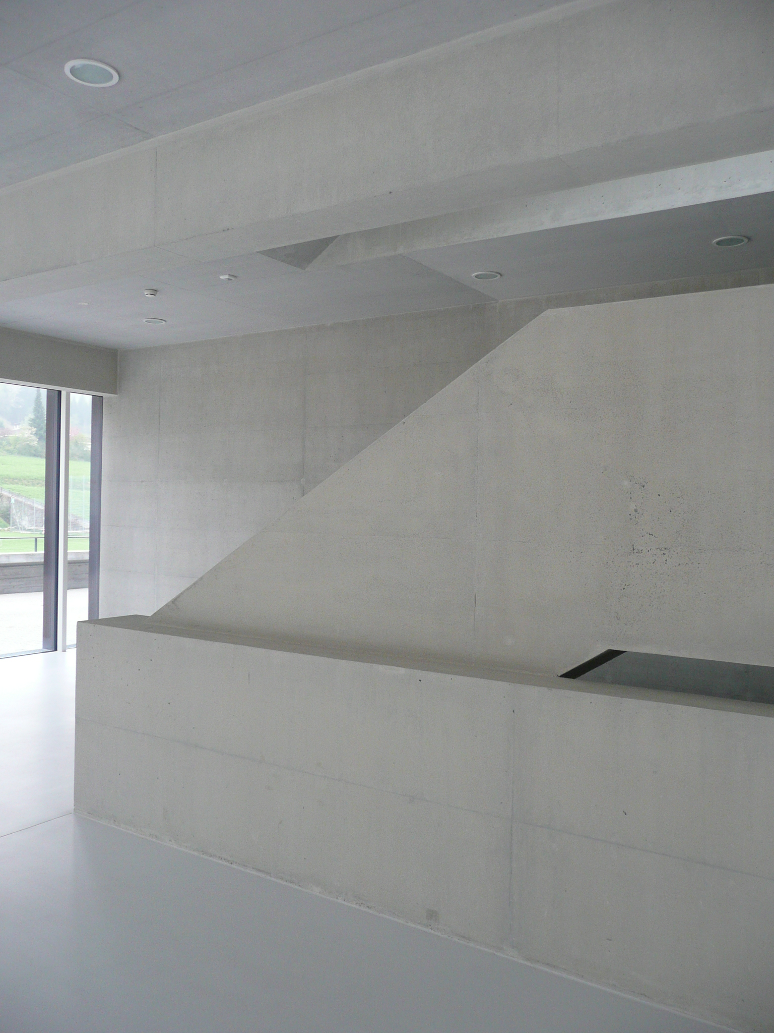 BEECK Concrete Stone Glaze Project - Gym in Liestal Switzerland 3