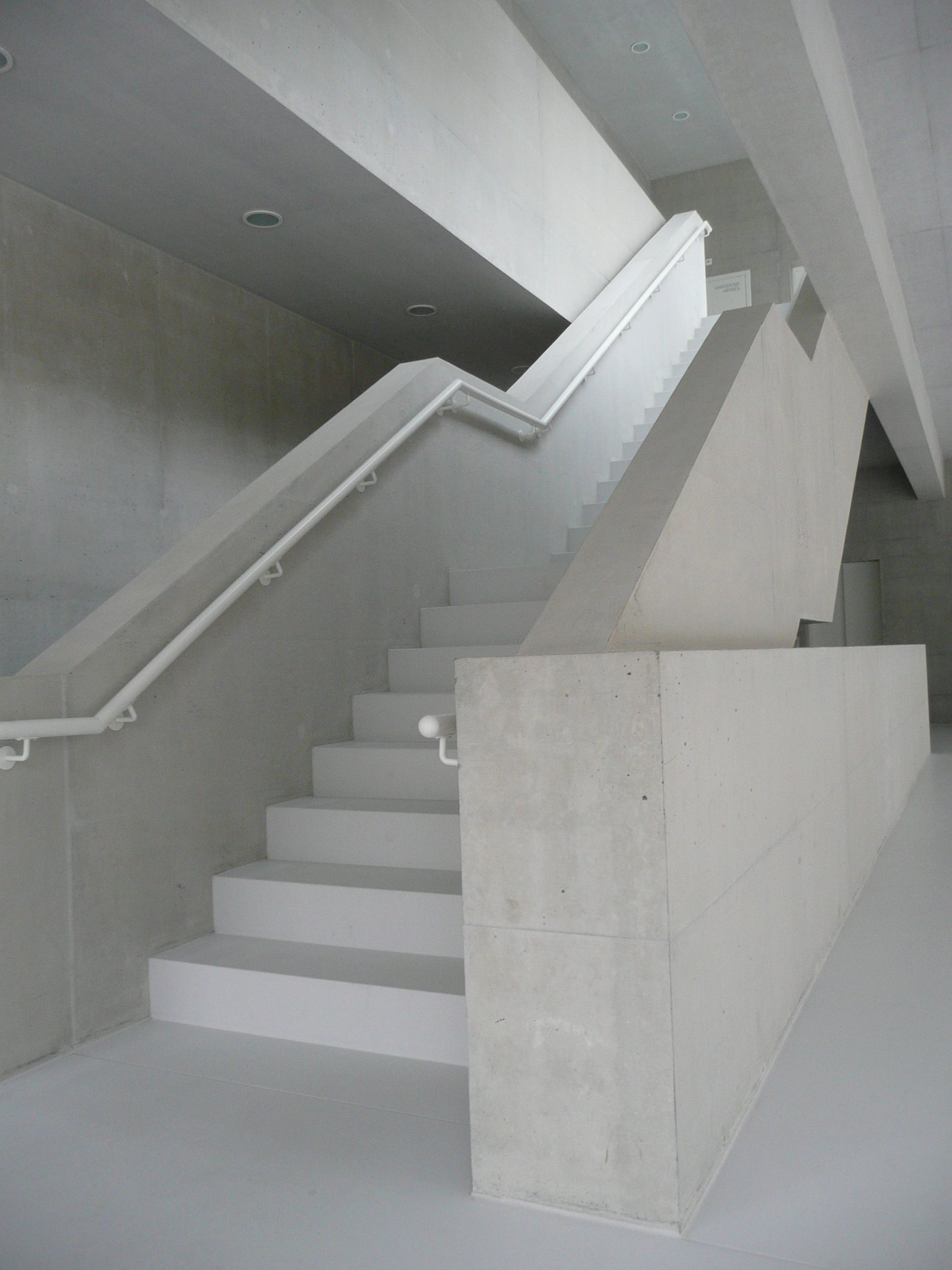 BEECK Concrete / Stone Glaze Project - Gym in Liestal Switzerland