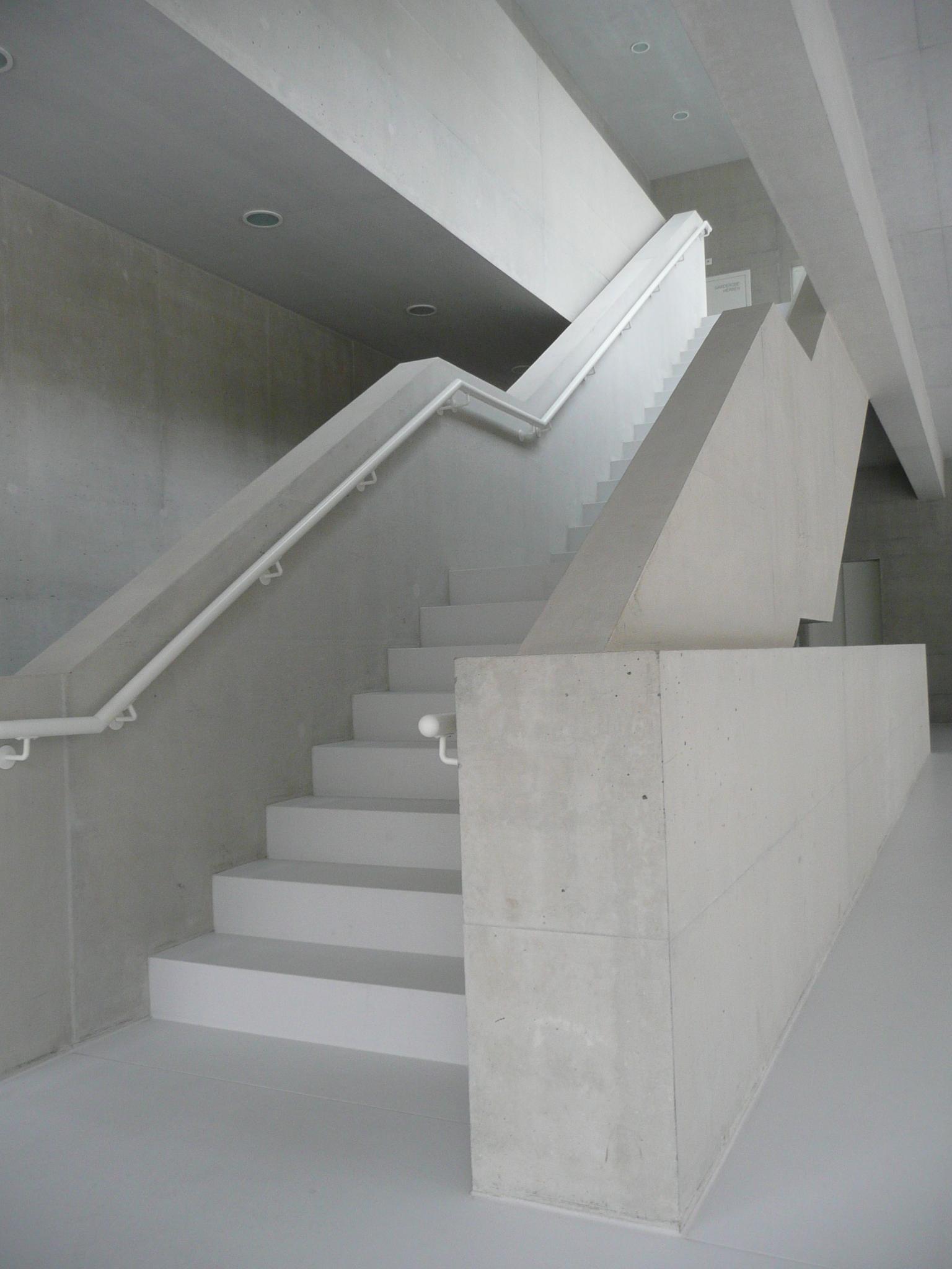 BEECK Concrete Stone Glaze Project - Gym in Liestal Switzerland
