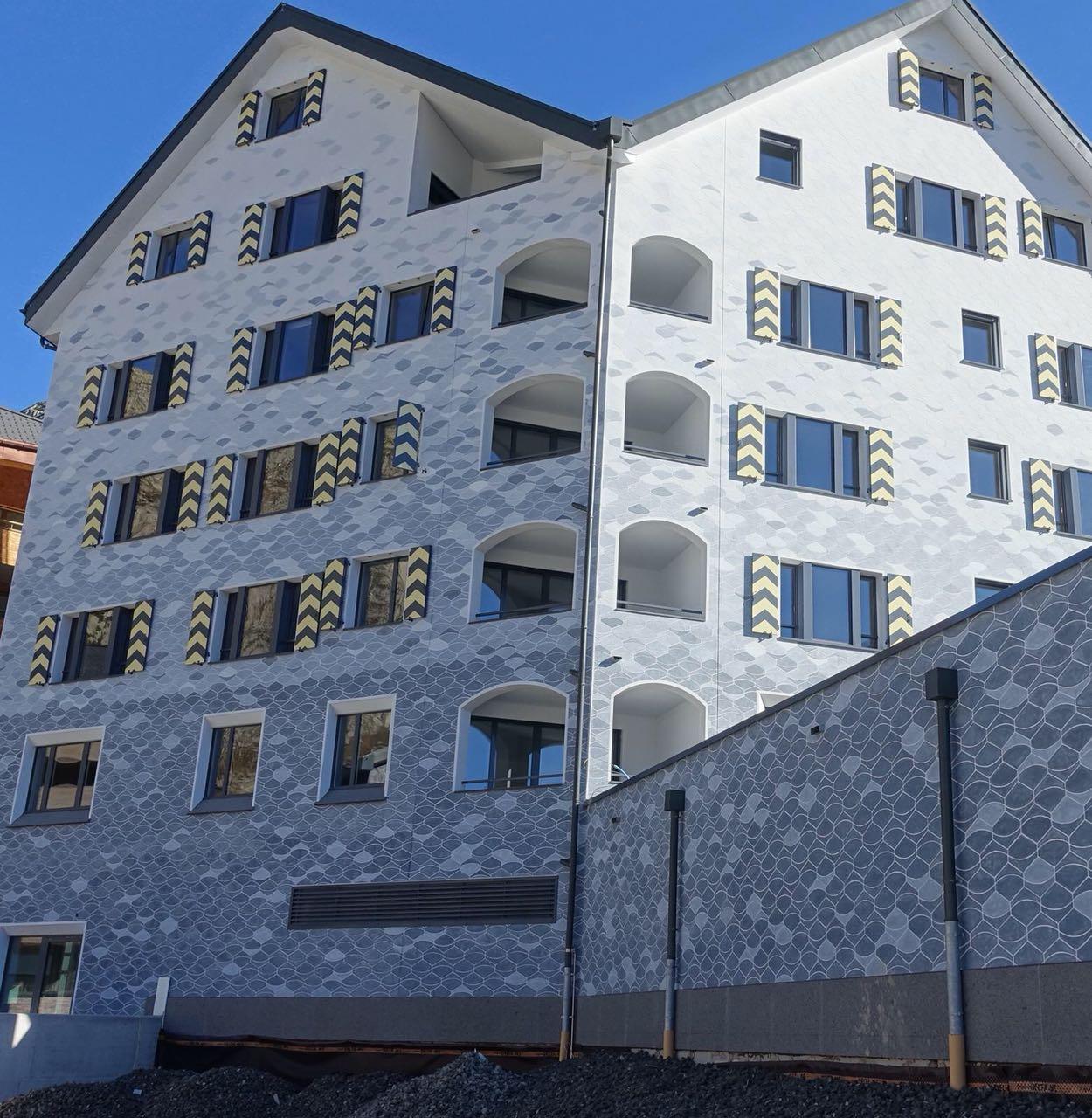 BEECK Concrete Stone Glaze Project - Swiss Alps Resort Edelweiss - Completed