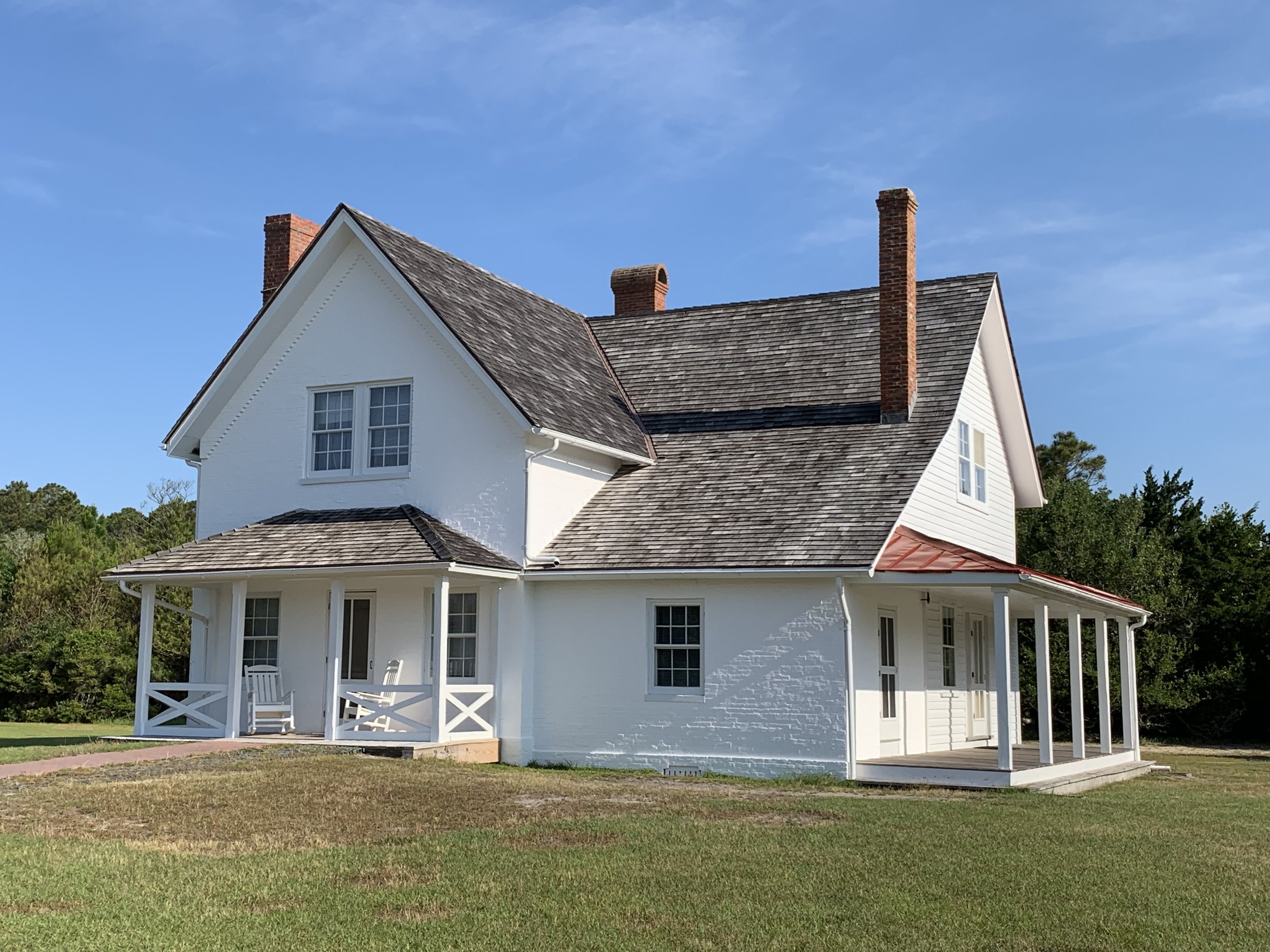 Cape Hatteras Principal Lighthouse Keeper's House - BEECK Mineral Paints - Renosil Coarse and Fine