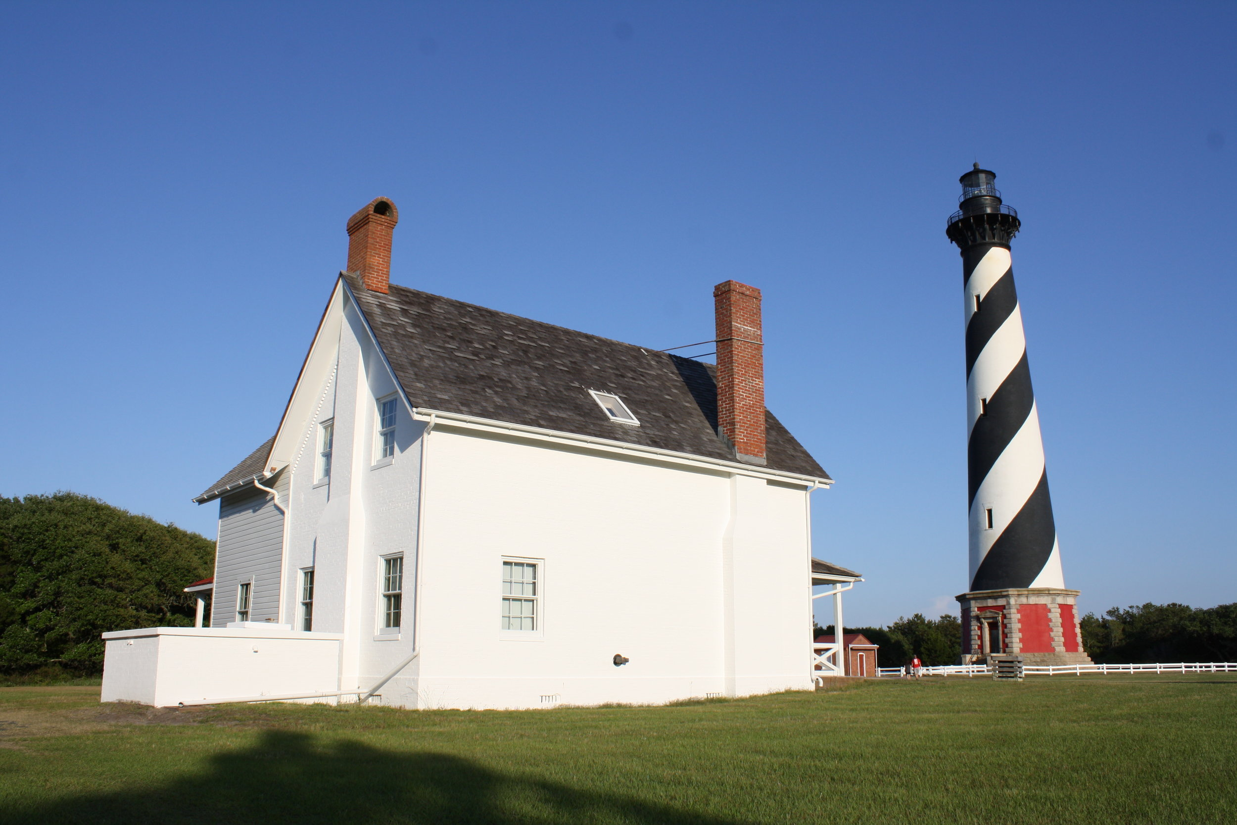 Cape Hatteras Lighthouse Principal Keeper's Quarters - BEECK Mineral Paints - Renosil Coarse and Fine.JPG