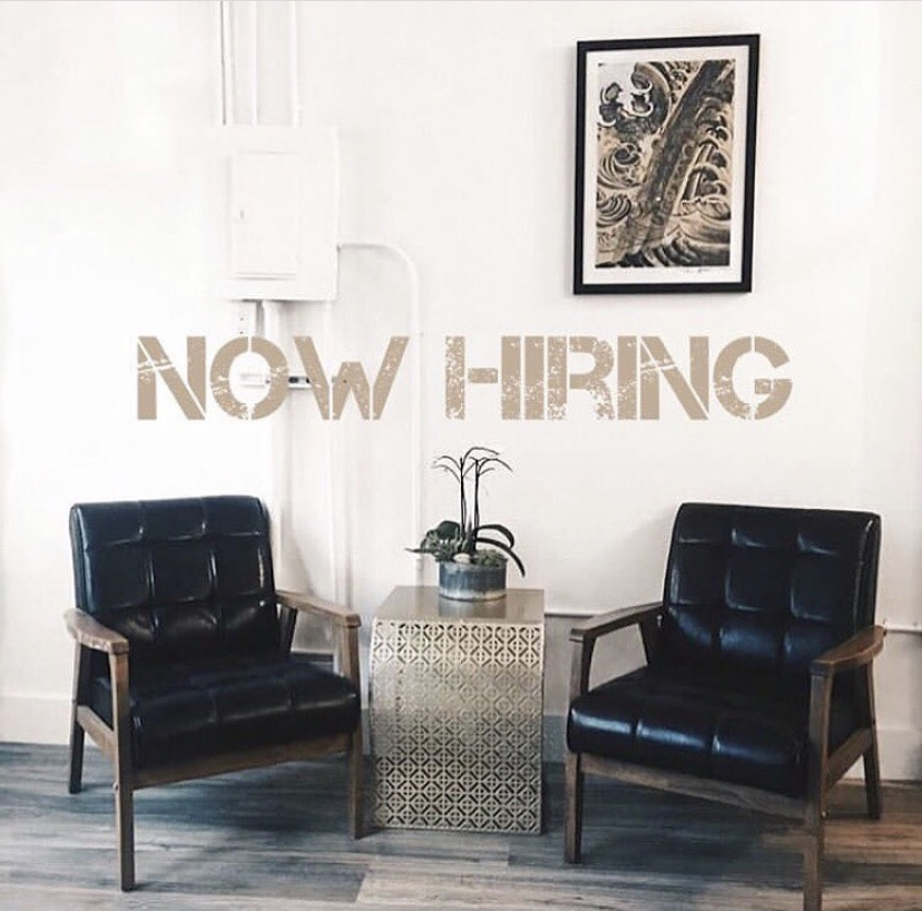We're Hiring - Want to be a part of our team? Email us at contact@temperancetattoosf.com with your social media information and a few images from your portfolio. We look forward to hearing from you.