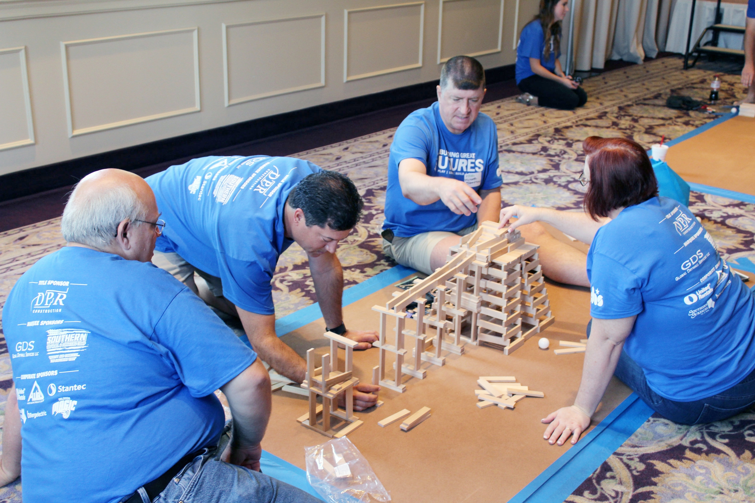 GRAB YOUR COWORKERS AND FAMILY TO JOIN DPR FOR OUR SIGNATURE CHARITy BUILD COMPETITION -