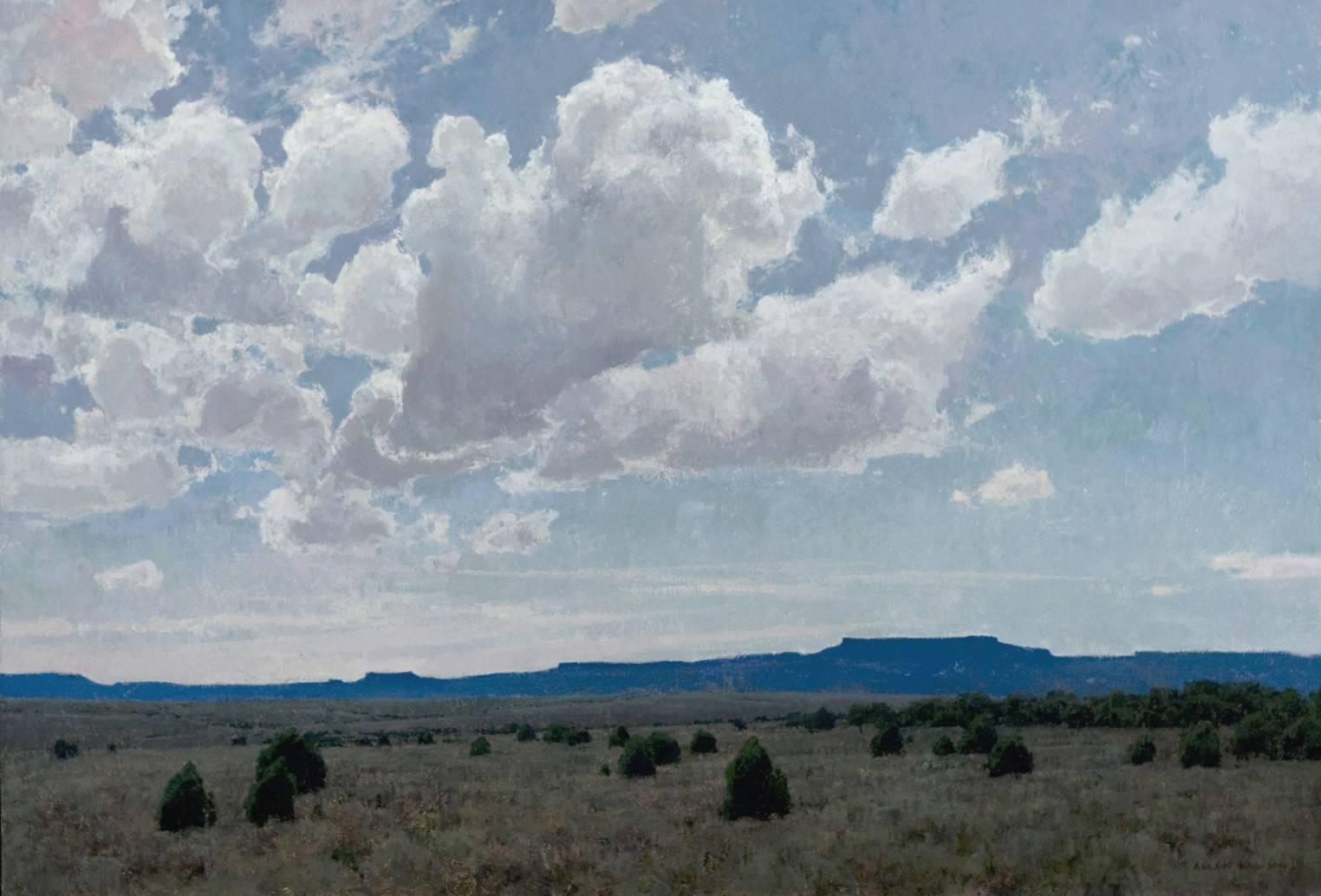 """""""Desert Pageantry"""" oil on linen, 30 x 44 in., 2013"""