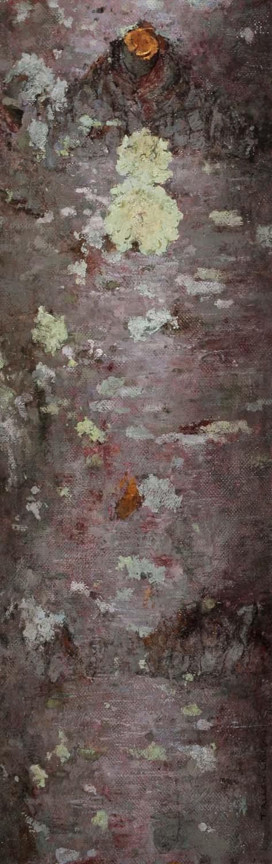 White Pine, oil on linen, 30 x 9.75 in.