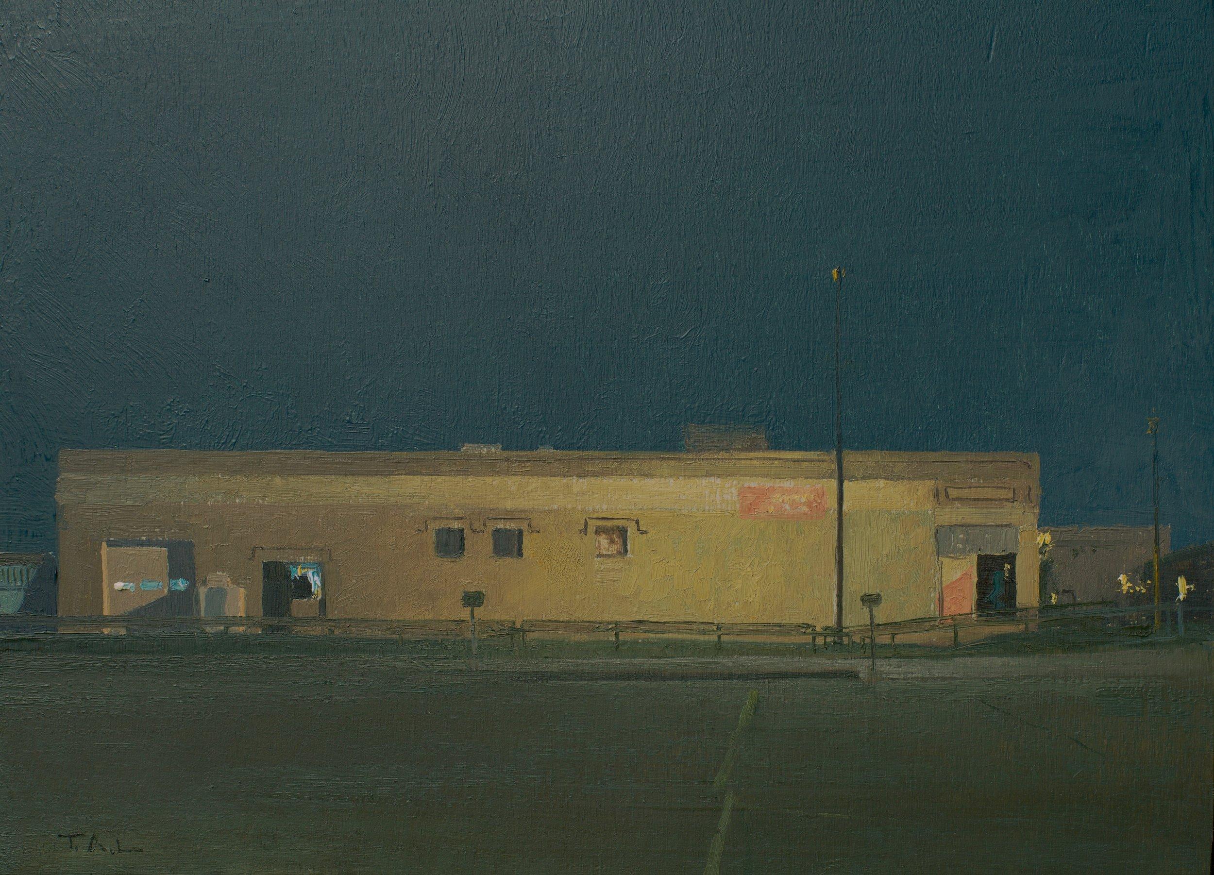 Luminous, oil on panel, 9 x 12 in.
