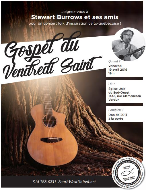 Good Friday Gospel Concert Gospel du Vendredi Saint — SouthWest United
