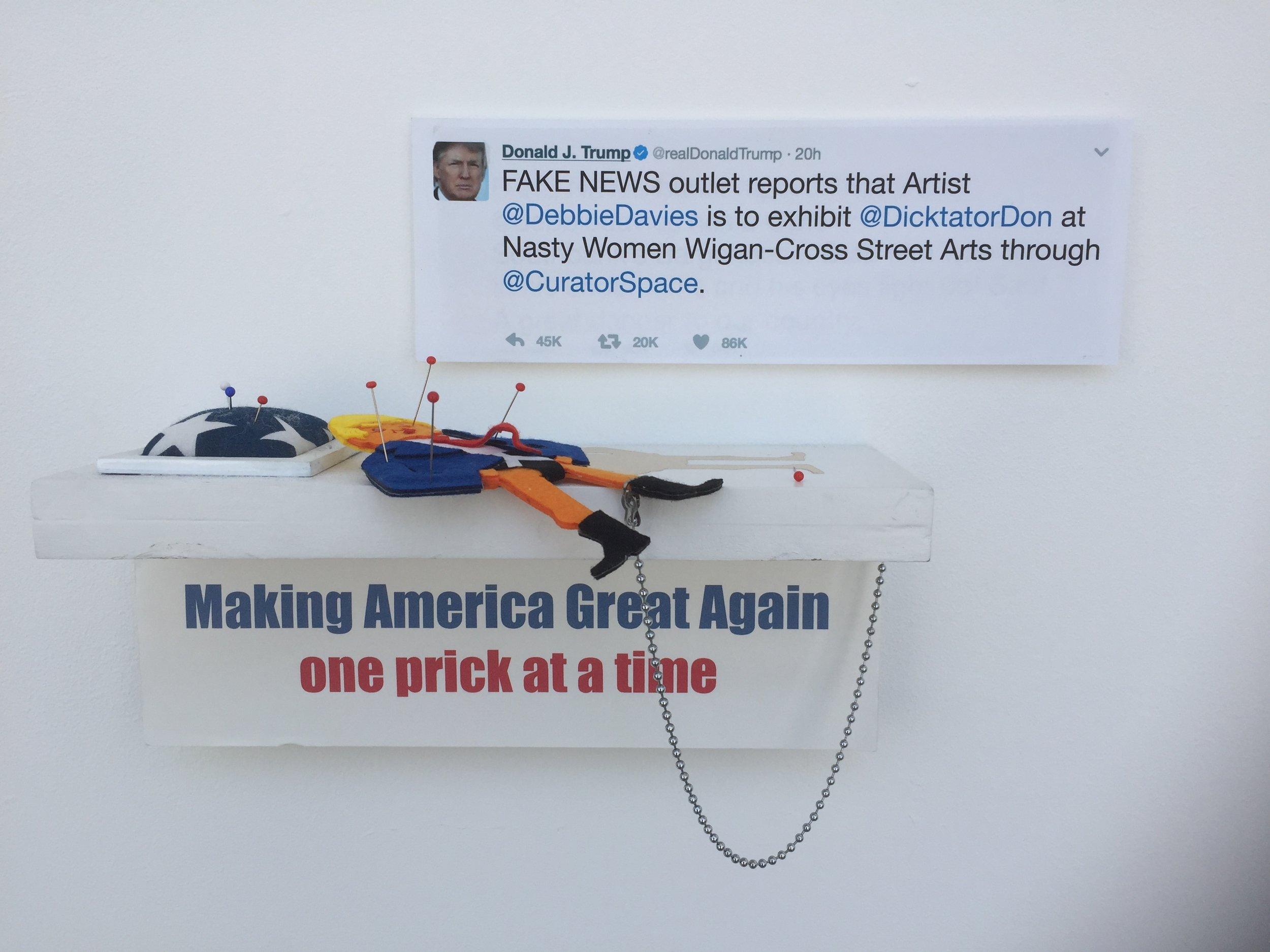 #DicktatorDon entered into Nasty Women Artist Call-Out