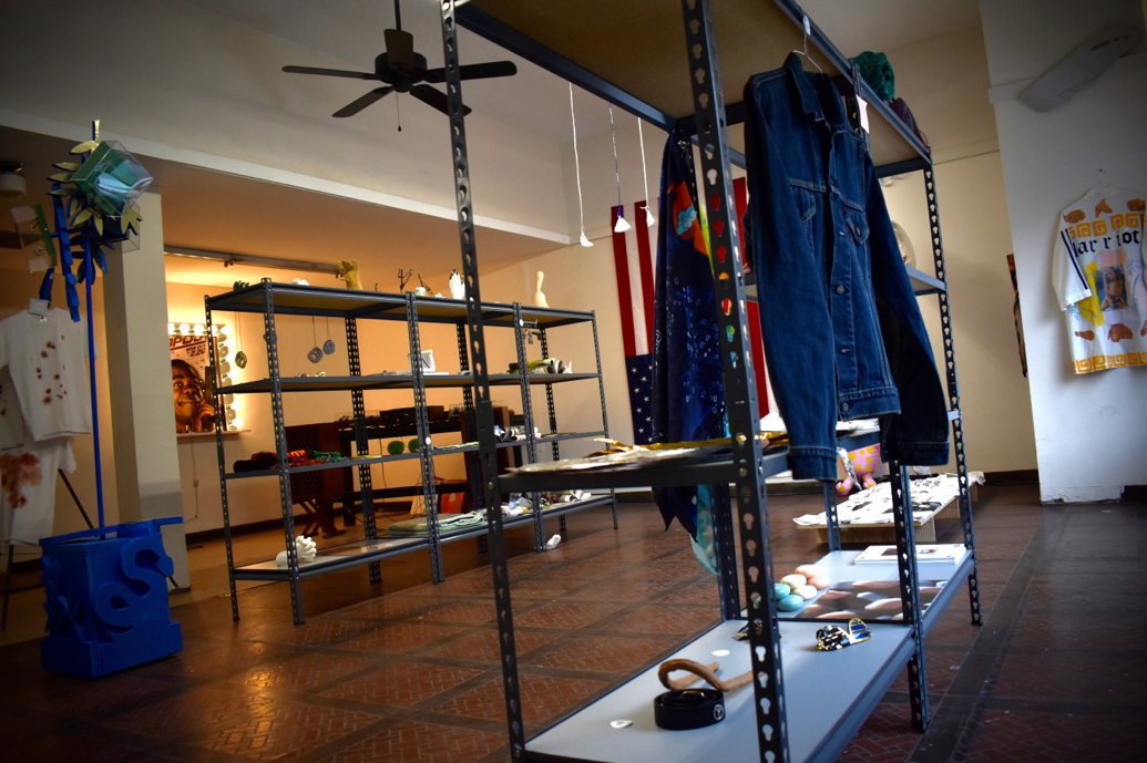 SUPASTORE HUMAN – WE ARE THE PRODUCT - 02/28/2018 Dikeou Pop-Up: Colfax is currently exhibiting SupaStore Human – We are the Product, an installation presented by London artist Sarah Staton. SupaStore Human is on view through February 2018 and items exhibited are available for purchase