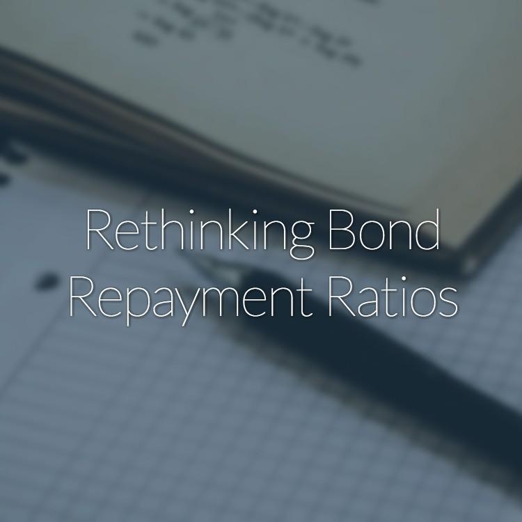 Rethinking Bond Repayment Ratios
