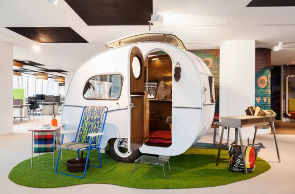 Google office in Amsterdam photo credit: fastcodedesign