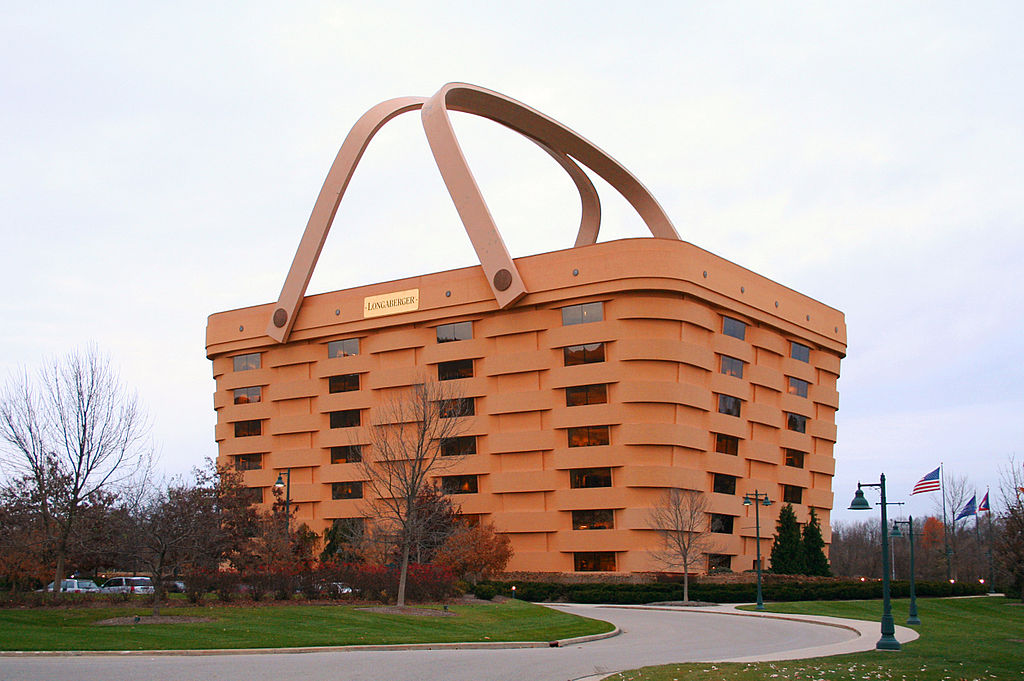 The Longaberger Company  headquarters in  Newark, Ohio  Derek Jensen Source Wikipedia