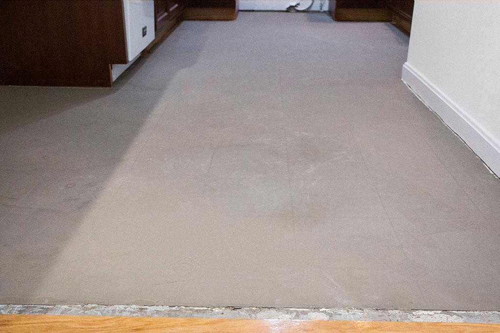 Skim Coating Floor Preparation D S