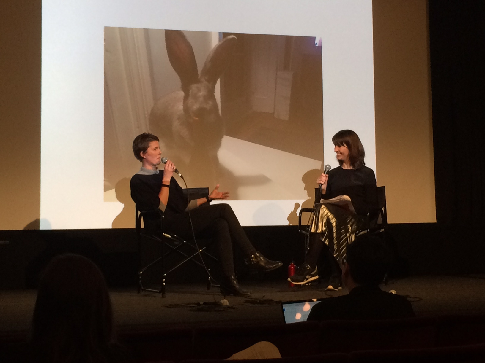 Charlotte Corney (Isle of Wight Zoo) and Honor Beddard (Wellcome Collection) in conversation at 'Wild Minds'.