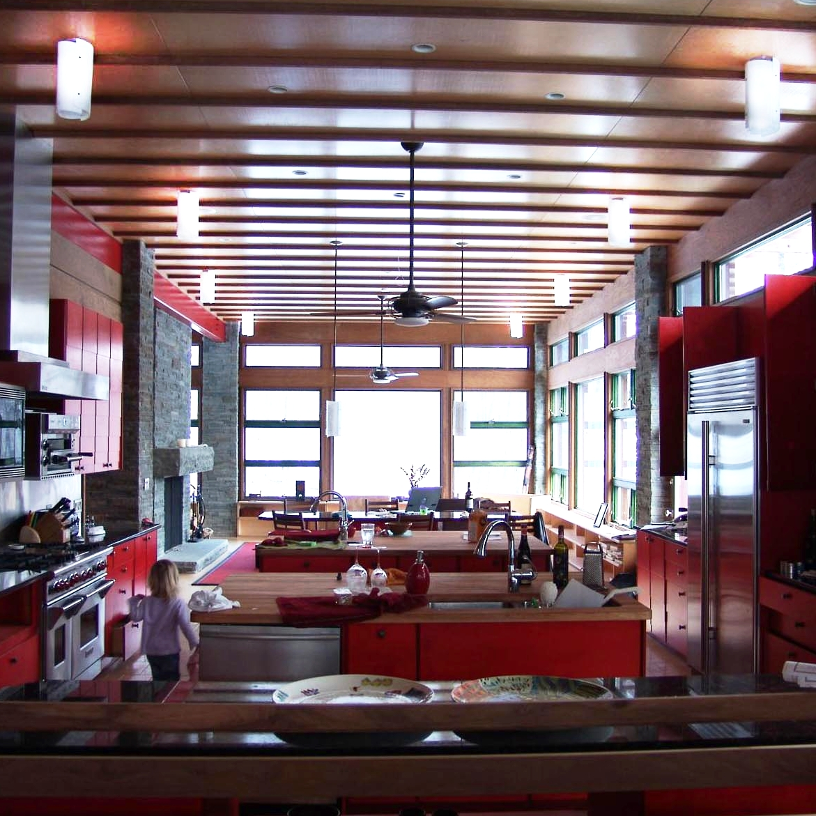 kitchen dining with Sushi pendants.jpg
