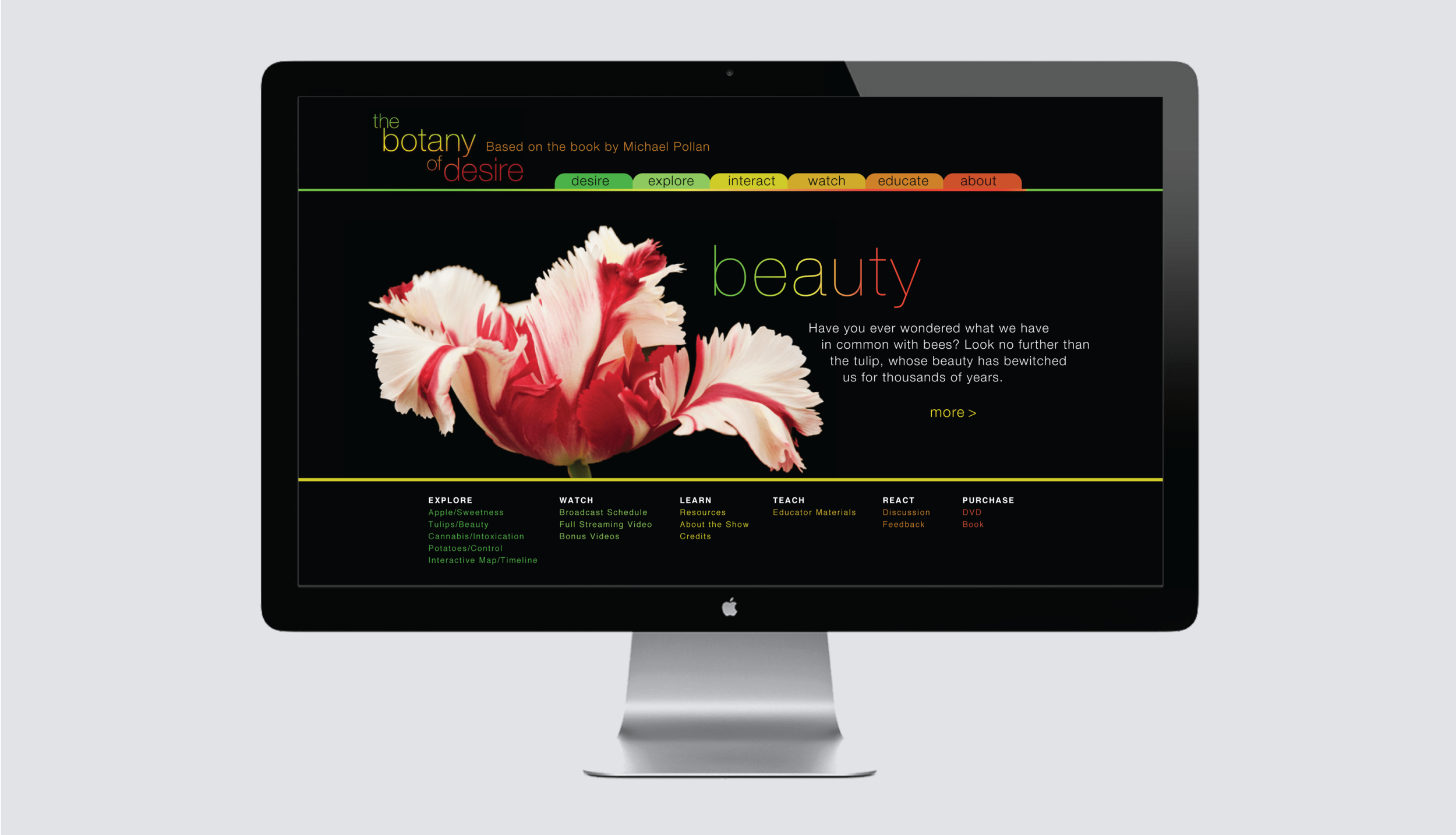 The Botany of Desire home page