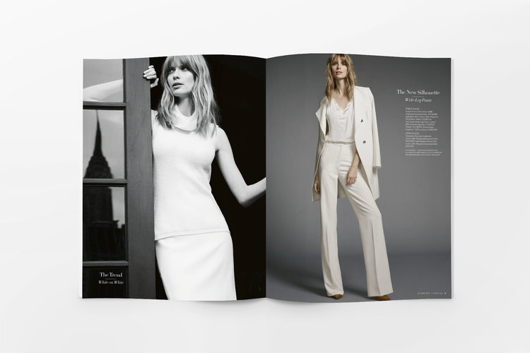 Direct Mail Catalog Spread