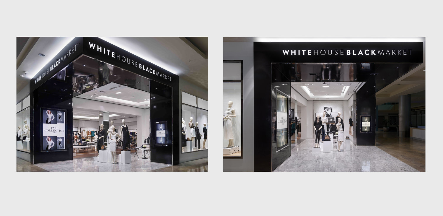 New Flagship Store Design with New Brand Logo Applied