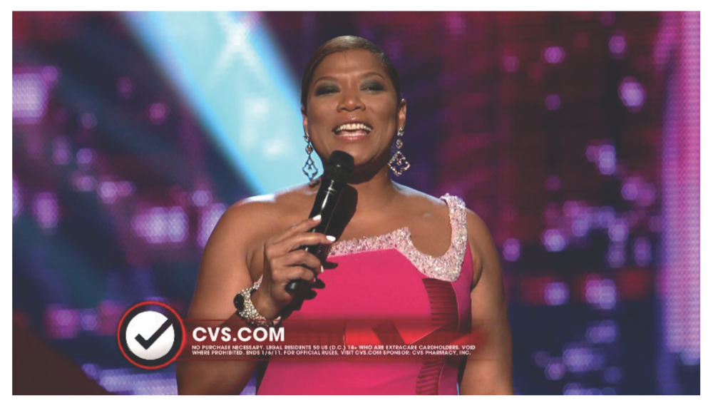 Queen Latifah Introducing the CVS Beauty Club on The People's Choice Awards