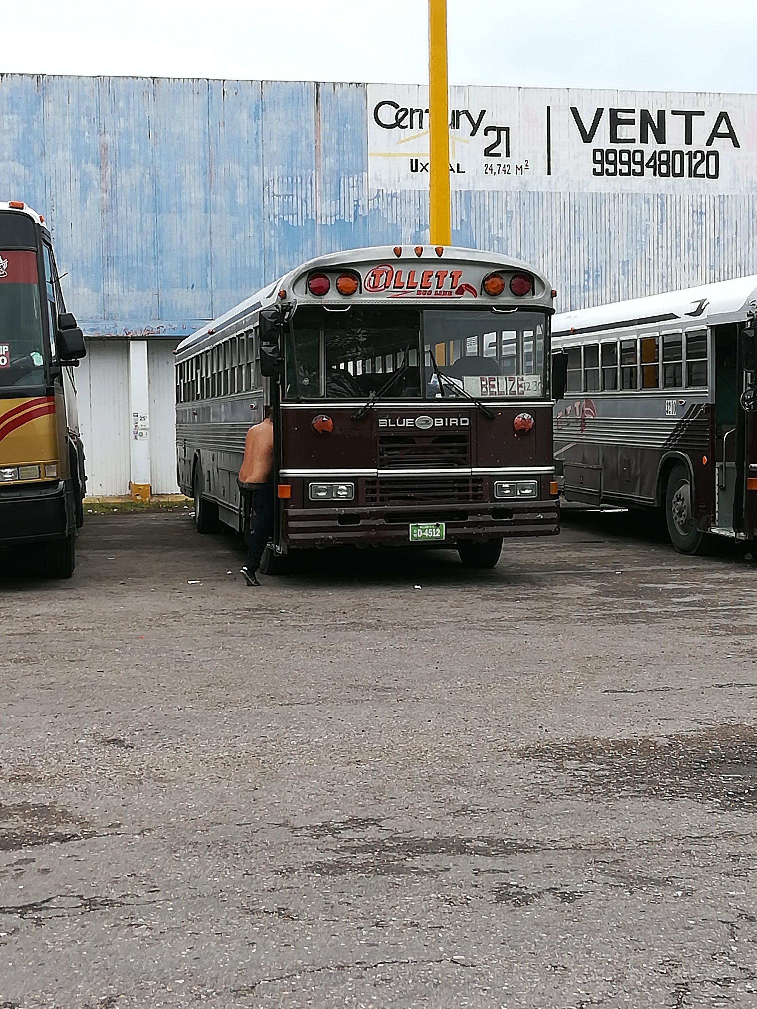 Leaving Calderitas, Mexico -