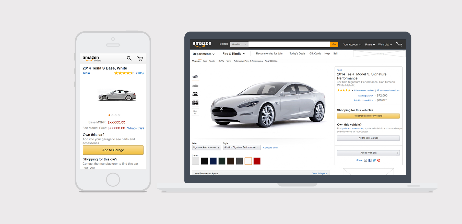 amazon vehicles - A car research platform for Amazon.
