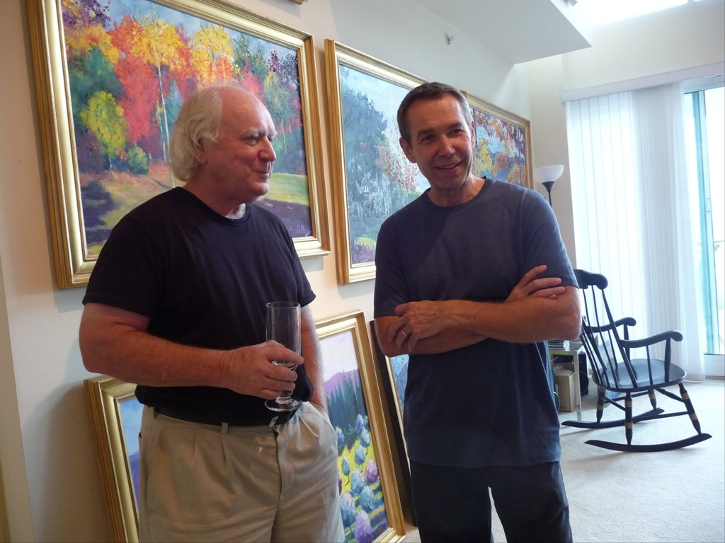 William Kelley and Jeff Koons