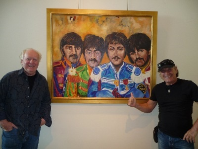 Fan Favorites - Brain Johnson, lead singer of AC/DC is a big Beatles fan and recently acquired William Kelley's
