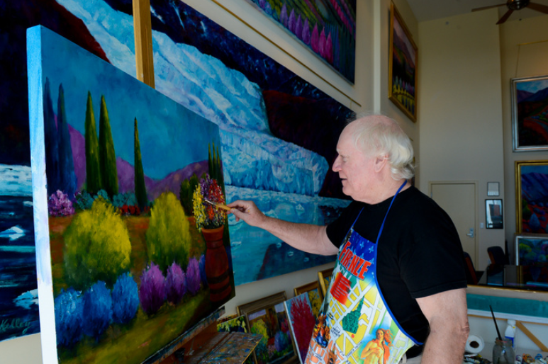 Fine Arts Society of Sarasota - William was featured in the Sarasota Tribune. The painter is among seven artists featured on the Fine Arts Society of Sarasota's Creators and Collectors Tour.Images and article from the article can be viewed here or by clicking the image.