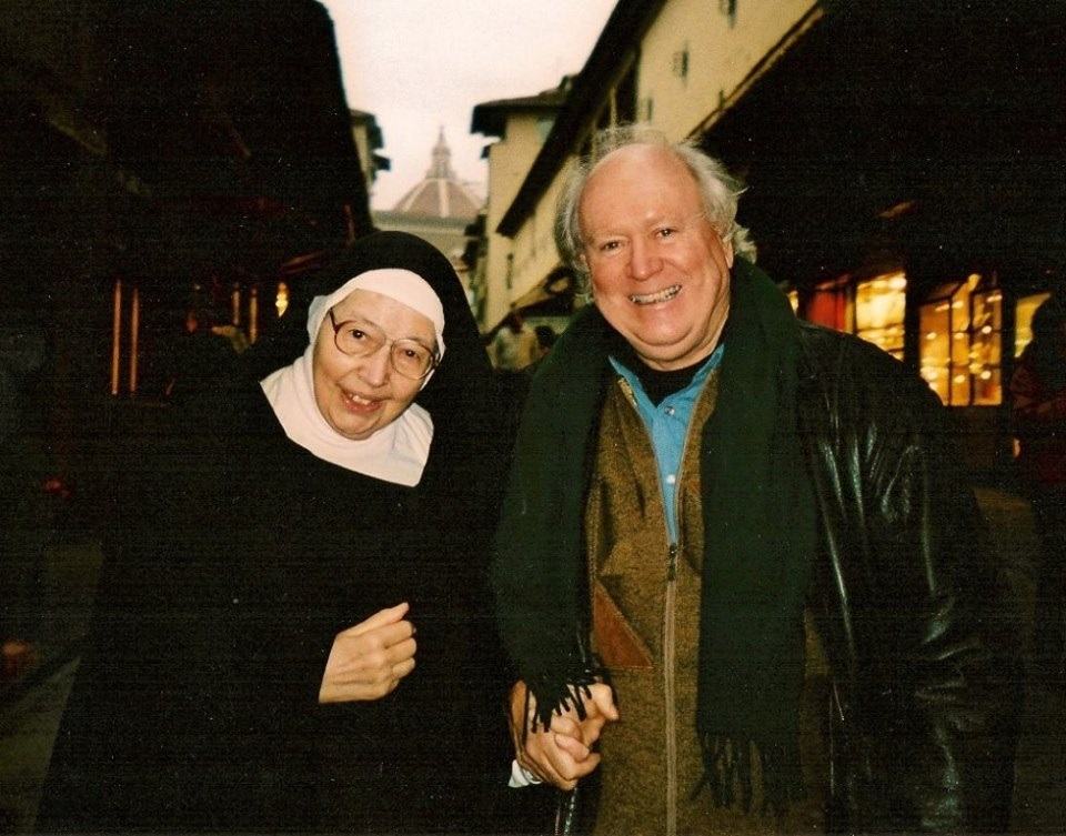William Kelley and Sister Wendy Beckett