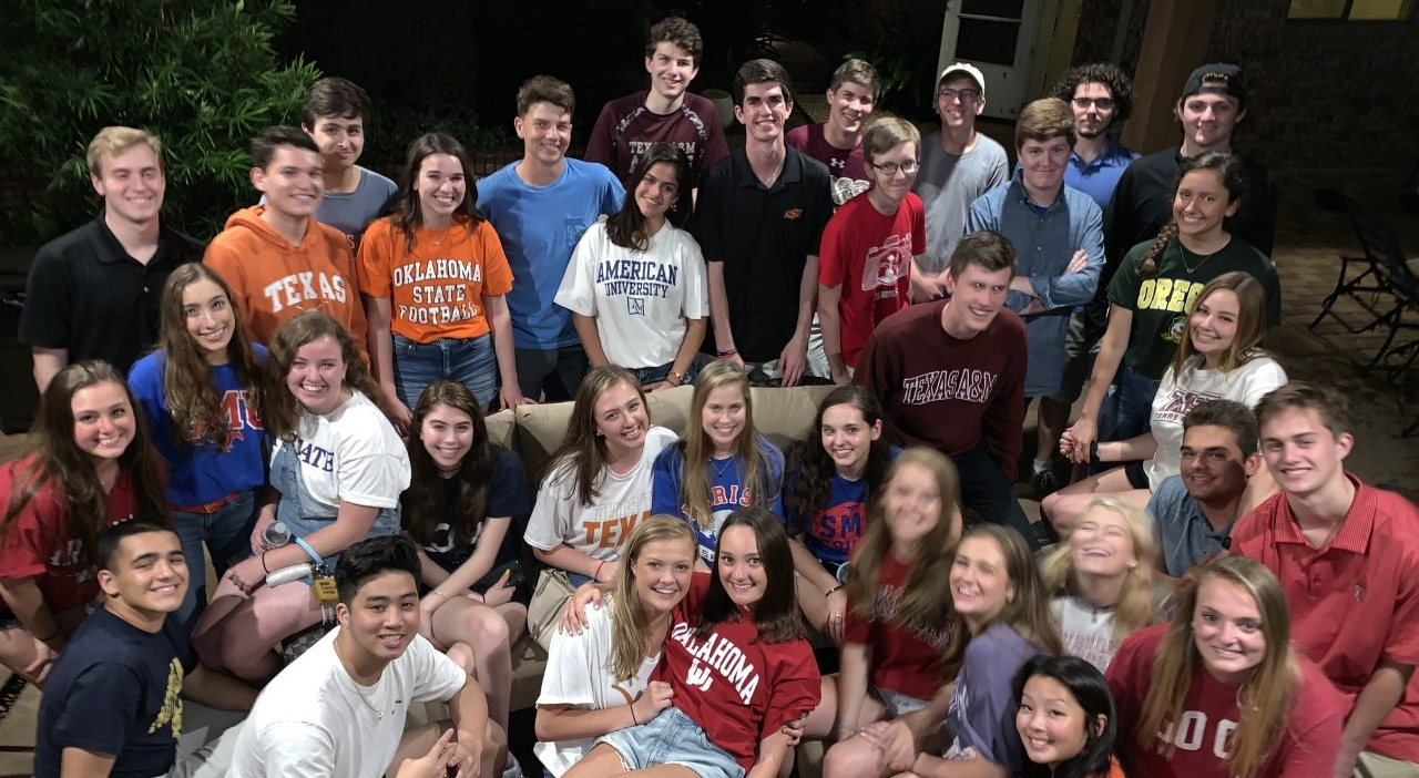 Class of 2015 held a reunion one last time (May 2019) before heading off to college!