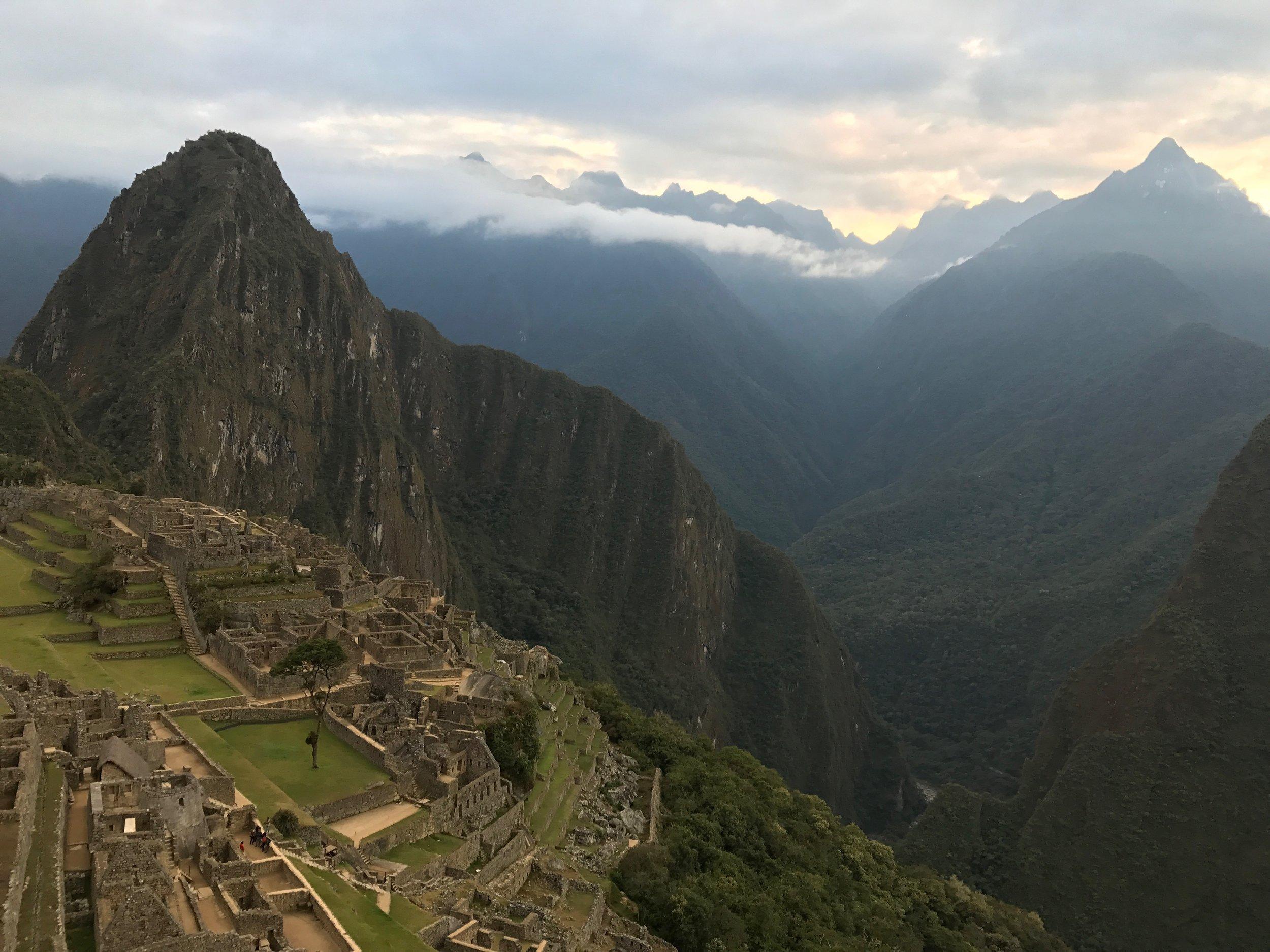 Huayna Picchu, Machu Picchu, Peru - 2017 Photo taken by Andrew Vaughn