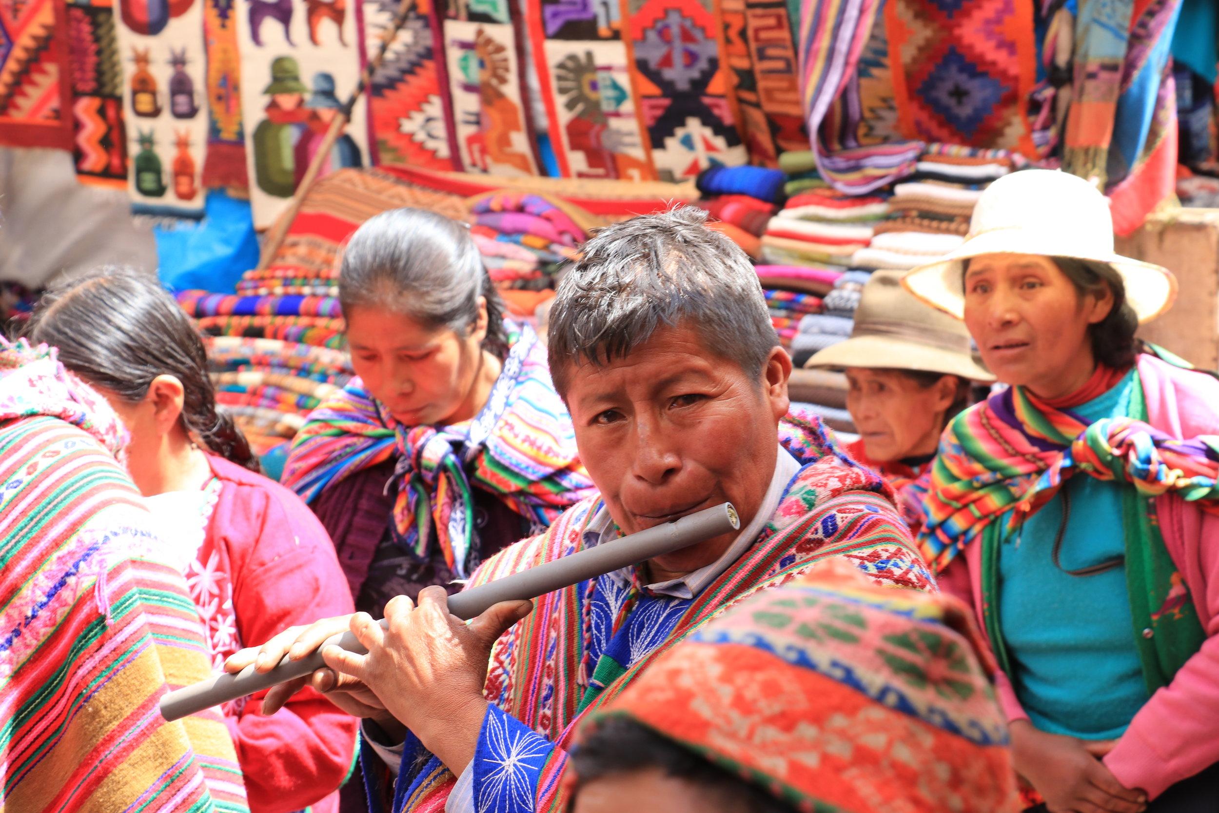 Pisac, Cusco, Peru - 2017 Photo taken by Andrew Vaughn