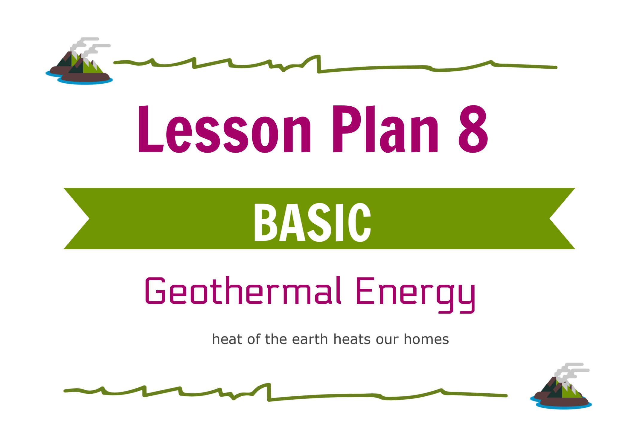 - This lesson introduces geothermal energy and regions in the world best suited for geothermal energy production.