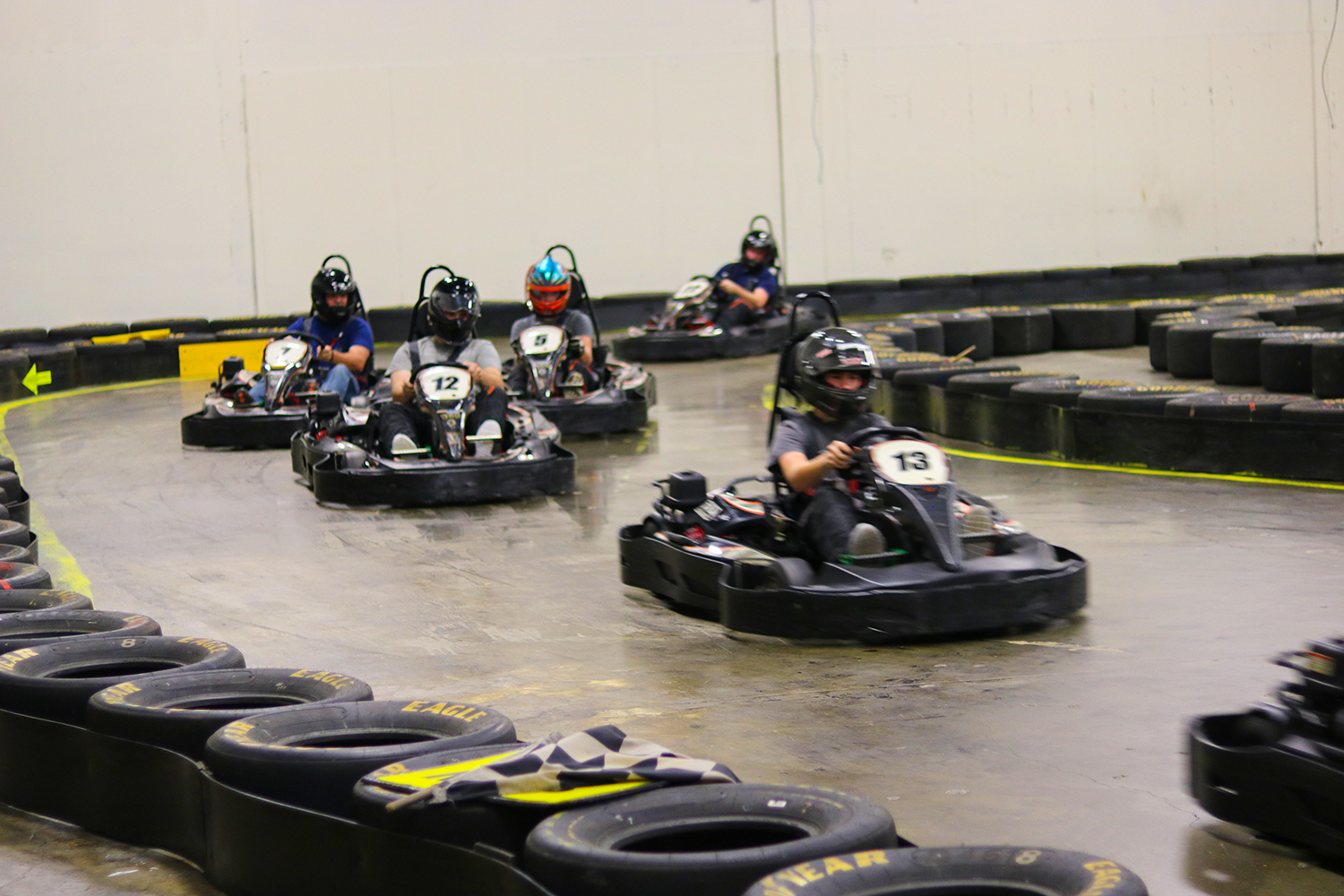 GROUP BENEFITS - Special group rates over individual racingEvent planning assistance to ensure a succesful outingMeeting spaces, large screen televisions, and gamesThe comfort of indoors (weather is never an issue)The unique experience of racing in a fun and safe environment