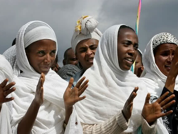 The Amhara people