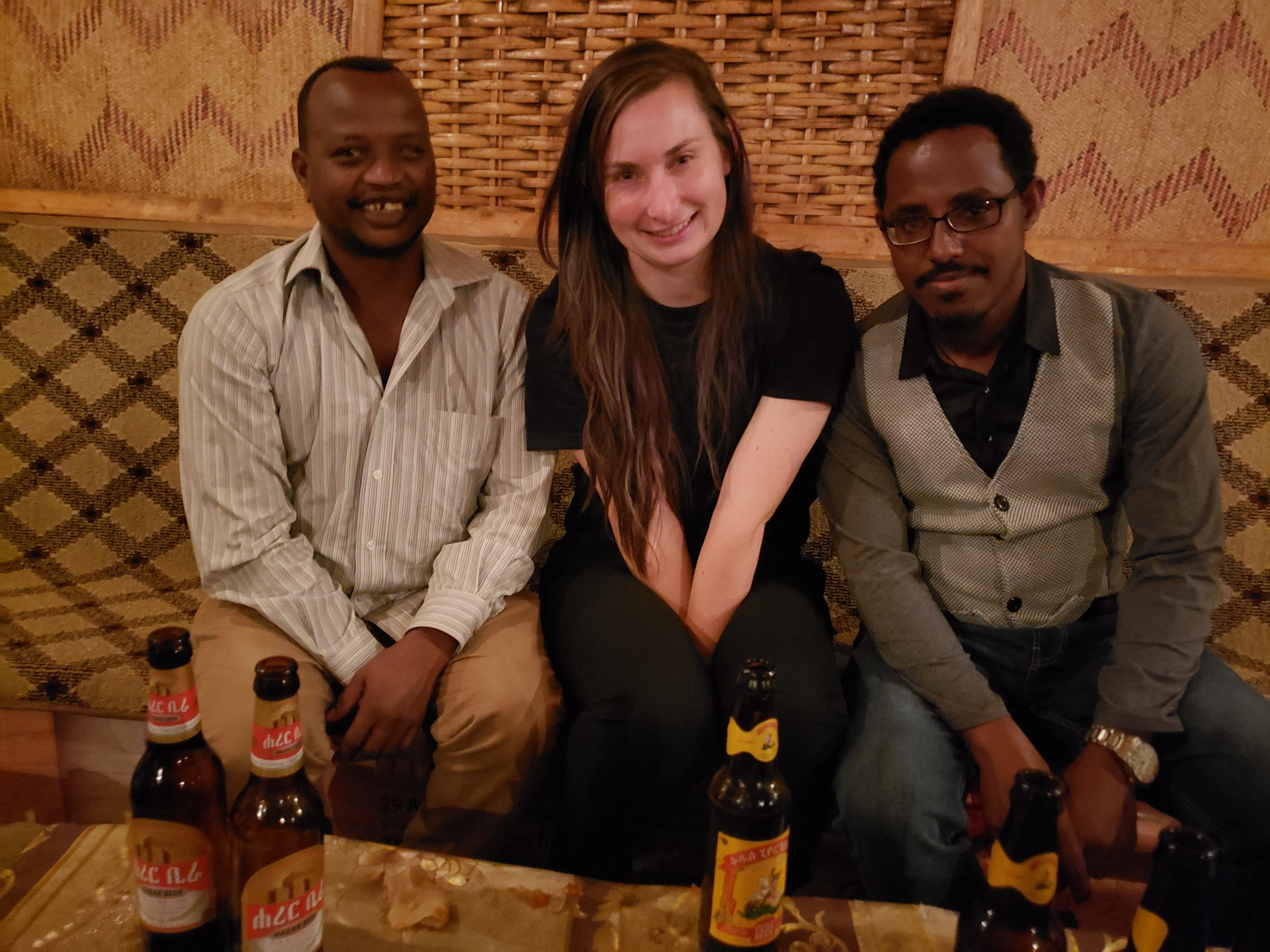 Dinner with Eshetu and Ezekial