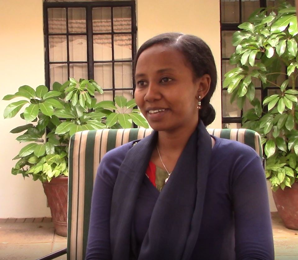 Sara from CARE International in Sudan