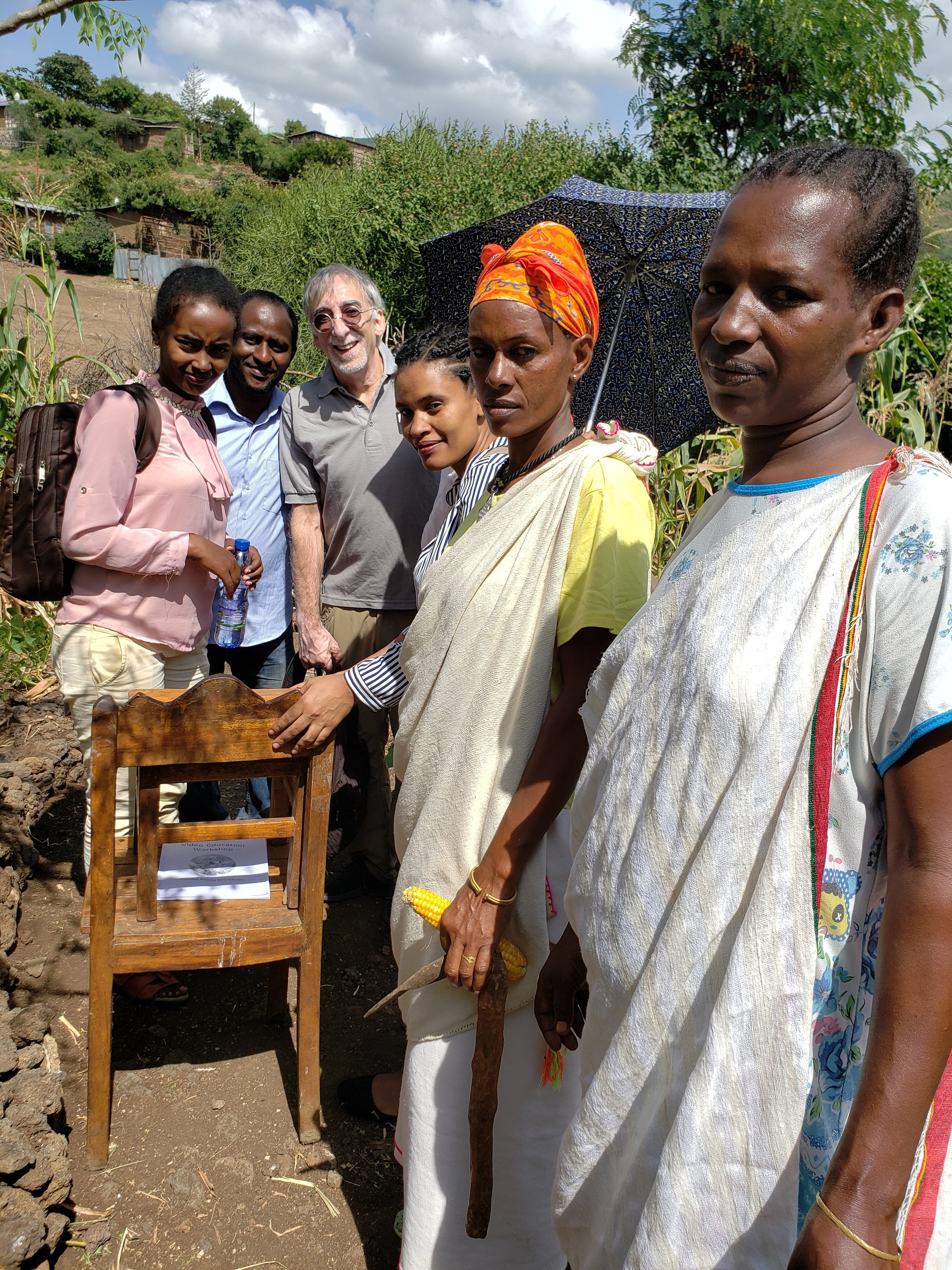Under-resourced neighborhood in Arba Minch, Ethiopia