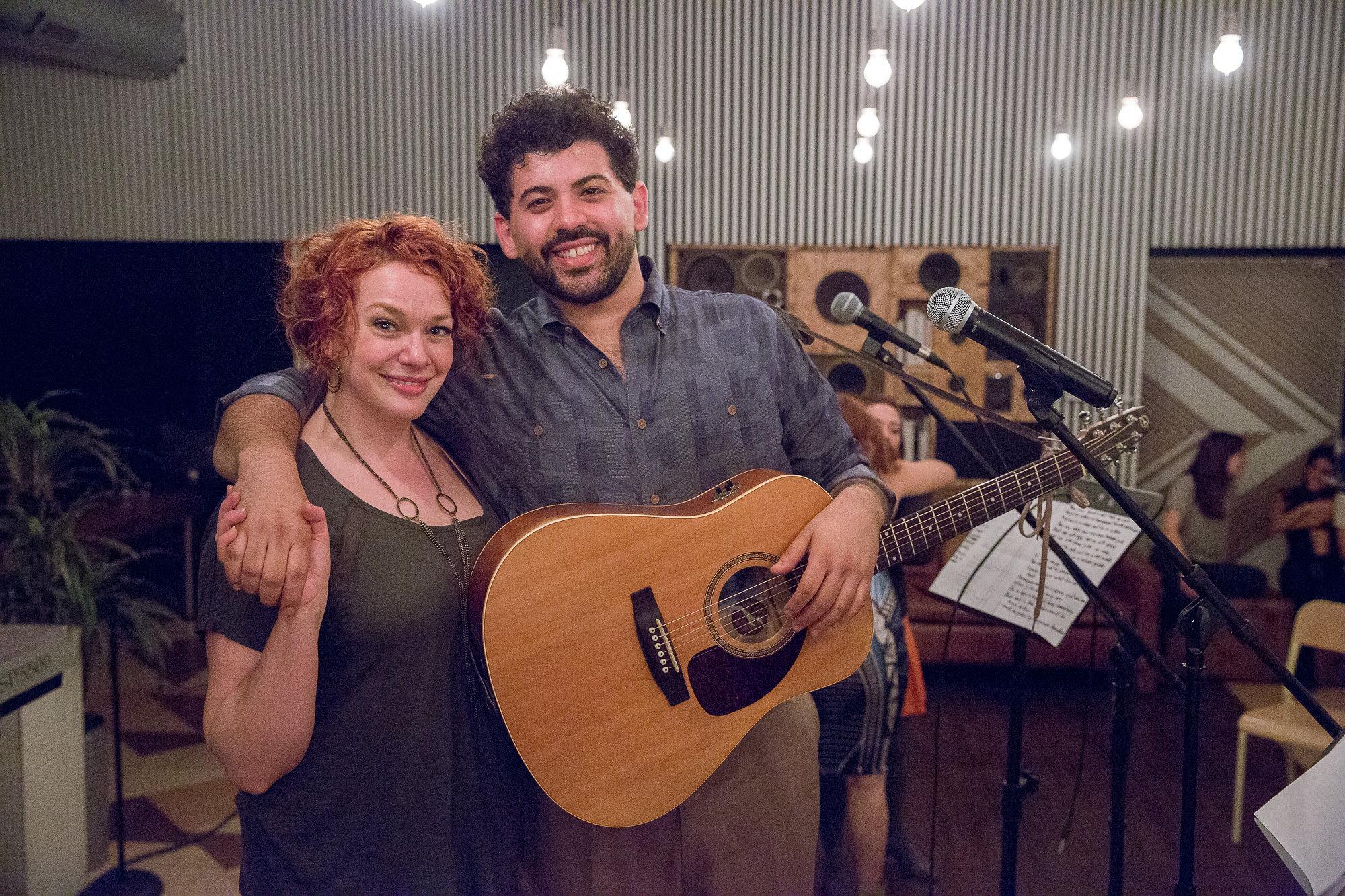Christina Hall & Diego Colón
