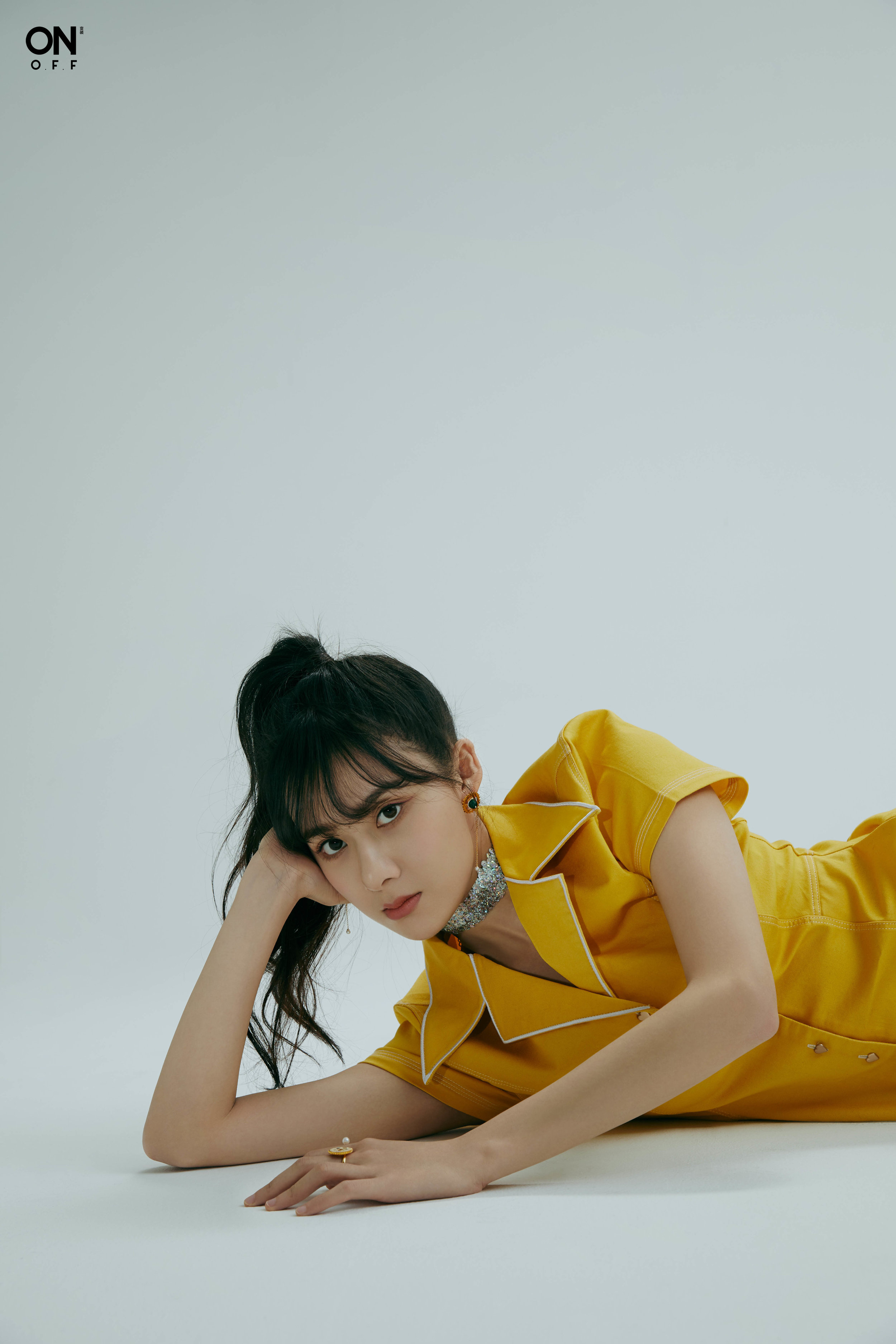 Date: January, 2019  Credit: Drunken Machine Gear Rings & Earrings  Country: China  Celebrity: Cao Xiyue