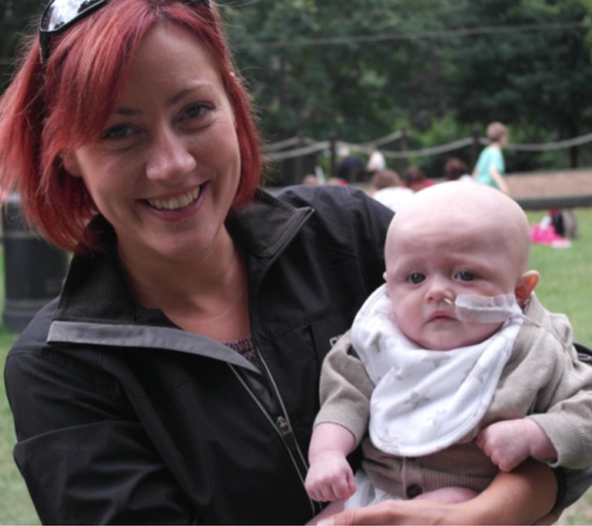 Julia Llewellyn & Brave nephew Dylan