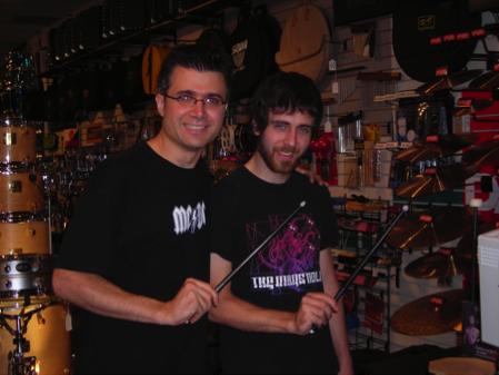 Joe Iannuzzi & Mike Taylor, Drummer's Choice 2006 (c/o Joe Iannuzzi)